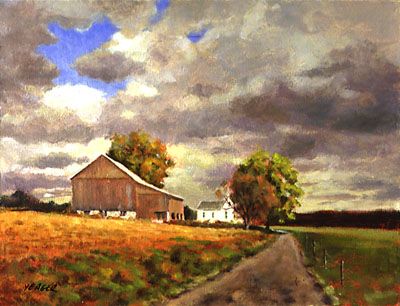 Farm on Union Mill Road by Richard Yeager