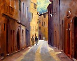 Rue Emile Zola by Richard Yeager