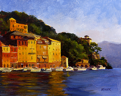 Late Afternoon Portofino by Richard Yeager