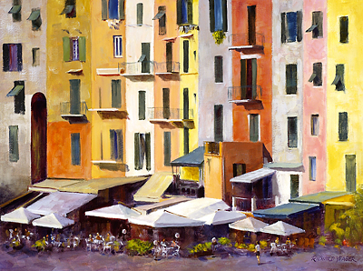 Portovenere Facade by Richard Yeager