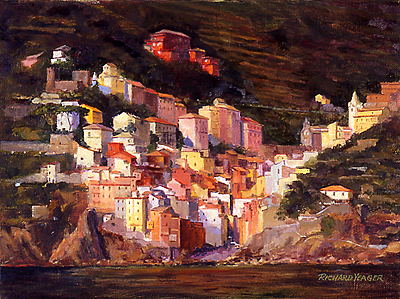 Riomaggiore by Richard Yeager