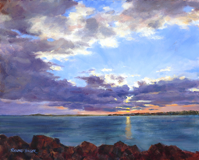 Cape Arundel Sunset by Richard Yeager