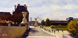 Terrasse des Tuileries by Richard Yeager