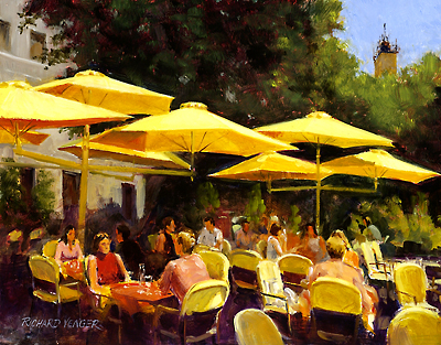 Caffe Des Cardeurs by Richard Yeager