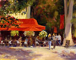On The Cours Mirabeau by Richard Yeager