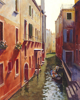 The Gondolier by Richard Yeager